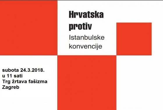 """Poziv Inicijative """"Hrvatska protiv Istanbulske konvencije"""""""
