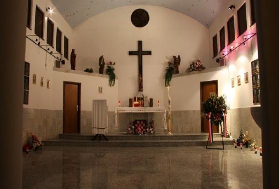 Poziv na sv. misu u kapelici Sv. Juraja