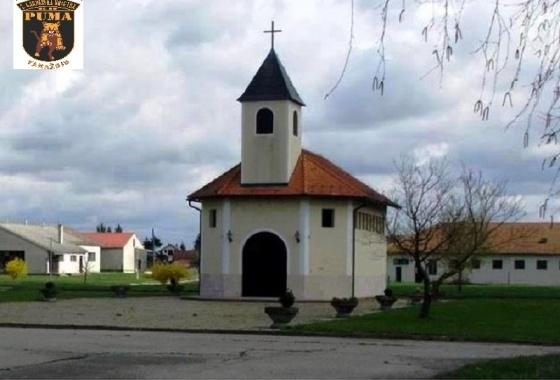 """Poziv na Sv. misu u kapelici Sv. Juraja u vojarni 7. gardijske brigade """"PUMA"""""""