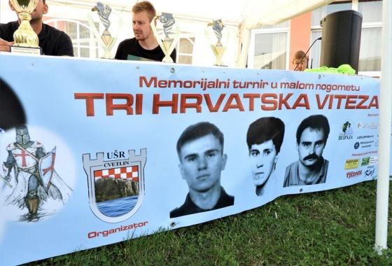 """Udruga """"PUMA"""" odala počast poginulim braniteljima na 24. memorijalnom malonogmetnom turniru """"Tri hrvatska viteza"""" u Cvetlinu"""